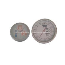 Four à thermomètre de cuisson en acier inoxydable