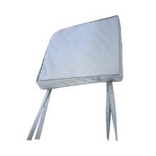 Couverture de chaise pliante en satin