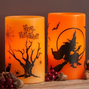 Halloween flameless LED candle