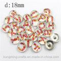 18 milímetros de estilo antigo vestuário decorativo Snaps Fashion Metal Buttons