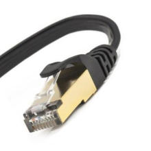 Flat Cat7 SSTP SFTP Patch Cable for Modem Router Switch
