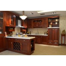 Beach Haven Shaker (Blanc brillant) Cabinet de cuisine en bois massif