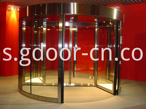 Two-wing Revolving Doors for Exhibitions
