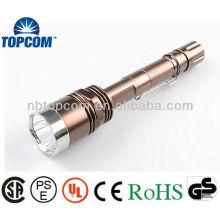 Lampe de poche tactile à cristaux liquides rechargeables à haute pression