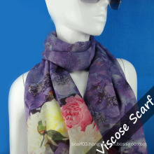 Spanish Long Wool Scarf for Women