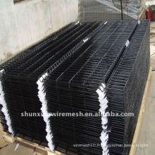 Clôture électrique en fil métallique galvanisé