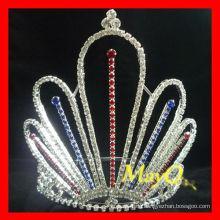 Großhandel Patriotische Prinzessin Festzug Krone