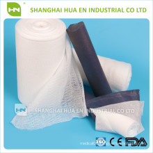 CE FDA ISO Approved Medical 100% cotton absorbent gauze roll