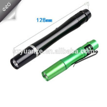 2015 mini Promotional 1w aluminum alloy led medical pen light,1*AAA battery powered mini medical pen torch