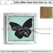 Butterfly Shaped New style Wooden Blackboard