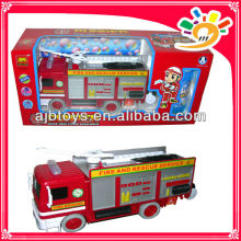 Funny B/O Car Electric Universal Fire Car Bubble Car Toy