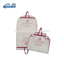 High guality clear suit laundry zipper garment bag