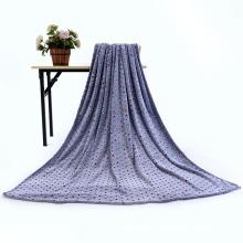 Confortável novo design 3d em relevo coral cobertor de lã