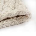 Womens Sweater Cardigan Wraps Winter gestrickte Kabel Fransen Schals Poncho (SP610)