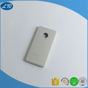 CNC machined VR remote control aluminium enclosure