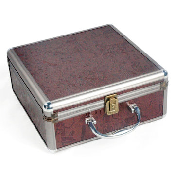 Aluminum Rolling Beauty Tool Case Box (HX-W3637)