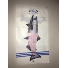 Frozen Fish 3 Side Seal Packaging Bag