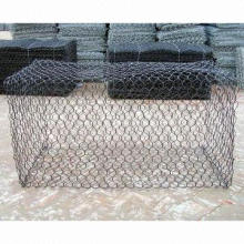Hexagonal wire mesh/Stainless Steel Woven Mesh with Metal Wire, Electro-galvanized/Hot-dipped Finish