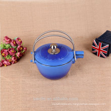 non stick enamel bottle blue multifunction tea kettle