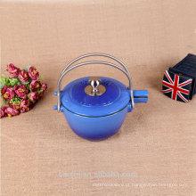 16 cm de ferro fundido de esmalte de chá de caldeira de caldeira porta interna