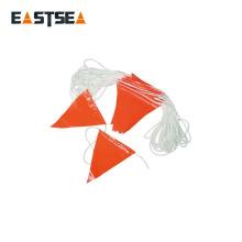 Línea de bandera de advertencia de seguridad de tráfico de nylon duradero