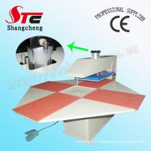 Heat Press Transfer Machine Full Automatic Pneumatic Four Station Heat Press Machine T-Shirt Printing Machine