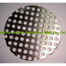 Perforiertes Titanium Mesh / Titanium Woven Mesh / Expanded Titanium Mesh / Titan Mesh für Batterie / Chemikalie / Filter