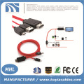 MHL Micro USB to HDMI TV AV Cable Adapter HDTV For SAMSUNG Galaxy S2