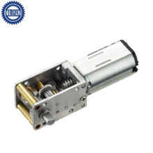 12mm Worm Gearbox 6V 12 Volt N30 Mini Metal DC Gear Motor for Intelligent Lock