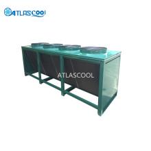 Condensador de refrigeração a ar no sistema de refrigeração