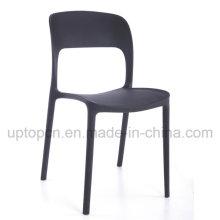 Cadeiras de restaurantes empilháveis de plástico colorido para móveis (SP-UC395)