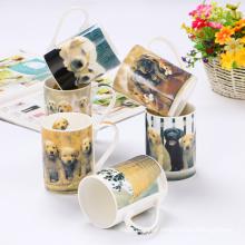 Custom creative ceramic animal mug