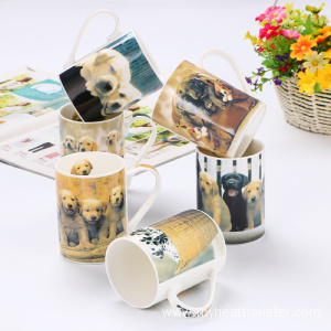 Custom creative ceramic animal mug