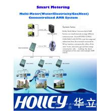 Sistema de medição AMR centralizado de utilitário
