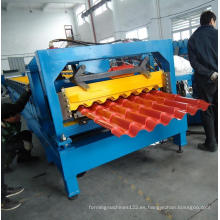 Rodillo de azulejos de acero modular que forma la máquina