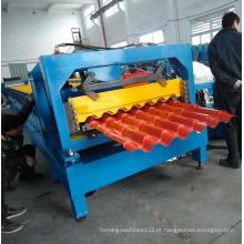 Rolo modular de telha de telhado de aço que dá forma à máquina
