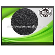 Cáscara de nuez, granular, pellet de carbón activado
