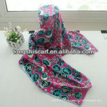 SD252-144 мода 100% шелк чистый шарф