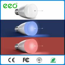 Smart Bluetooth Phone Apps Ampoule LED avec haut-parleur, RGB Speaker LED Ampoule intelligent