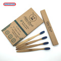 wholesale customized logo printed bamboo toothbrush
