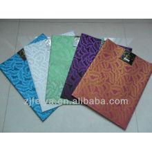 Patrón de hojas coloridas African Sego Headtie Headwear Gubilee Quality