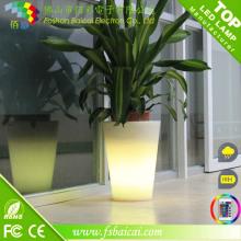 Pot de jardin avec LED