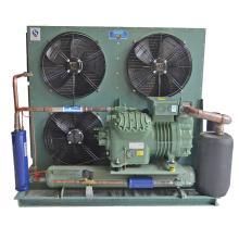 Unidade de condensação refrigerada a ar de pistão semi-fechado