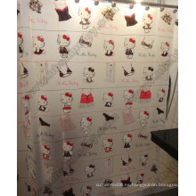 Cortina de ducha Hello Kitty