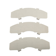 China brake pad supplier oem car brake pads clip anti-noise shim raw material for auto break pads