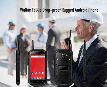 Walkie Talkie Drop-proof Rugged Android Phone