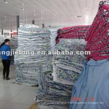 100% coton imprimé matelassé