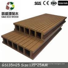 gswpc recycled eco board /eco-friendly wpc/decking Hollow and solid wpc