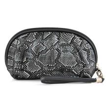 Lady Fashion Snake Vein PU Cosmetic Wash Clutch Bag (YKY7537)