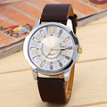 Men Business Luxuury Leather Wristband Watch